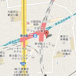 新大阪丸ビルへのアクセス